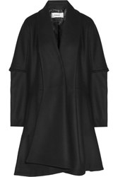 Chalayan Wool Blend Coat Black