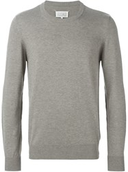 Maison Martin Margiela Maison Margiela Elbow Patch Sweater Grey