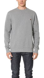 Penfield Embroidered Patch Sweatshirt Grey