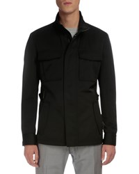 Berluti Lightweight Buckled Side Jacket Black