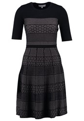 Reiss Alithia Cocktail Dress Party Dress Black Pink