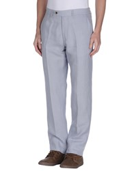 Ermanno Scervino Trousers Casual Trousers Men Sky Blue