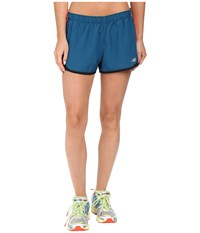 New Balance Accelerate 2.5 Short Castaway Guava Women's Shorts Blue