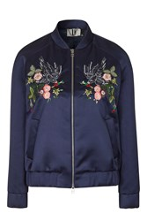 Ebury Bomber By Unique Navy Blue