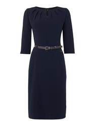 Barbour Faray Shift Dress Navy