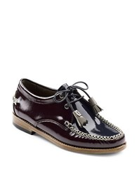 G.H. Bass Winnie Patent Leather Oxfords Brown