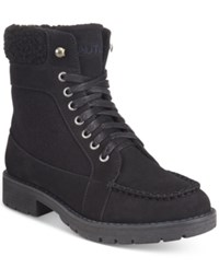 Nautica Thunder Bay Cold Weather Lace Up Boots Women's Shoes Black
