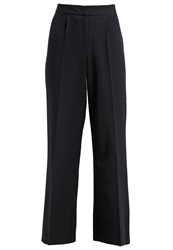 Dorothy Perkins Palazzo Trousers Navy Blue Dark Blue