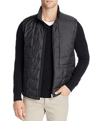 Theory Wittwatts Quilted Puffer Vest Black