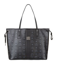 Mcm Medium Reversible Shopper Female Black