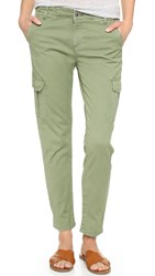 Ag Jeans The Pepper Utility Trousers Sulfer Dried Sage