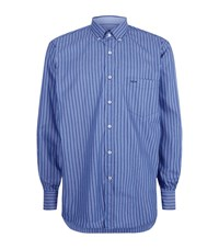 Paul And Shark Filled In Stripe Shirt Male Navy