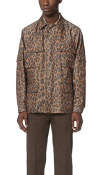 Marc Jacobs Geo Leopard Field Coat Gold Multi