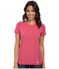 Carhartt Force T Shirt Wild Pink Heather Women's T Shirt