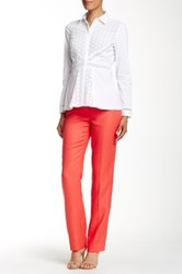 Lafayette 148 New York Barrow Linen Pant Pink
