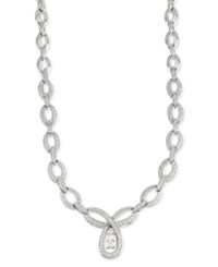 Wrapped In Love Diamond Linked Pendant Necklace 3 Ct. T.W. In 14K White Gold
