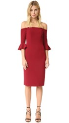 Black Halo Madigan Sheath Dress Mulberry