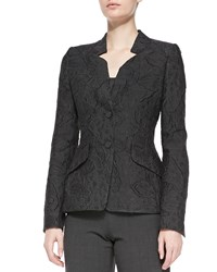 Rena Lange Two Button Fil Coupe Jacket Women's
