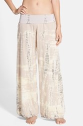 Hard Tail Double Voile Pants Beige