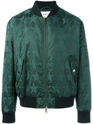 Ports 1961 'Stars All Over' Bomber Green