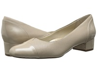 Trotters Danelle Nude Mini Embossed Patent Leather Women's Slip On Shoes Bone