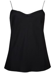 Ted Baker Scalloped Layering Cami Black