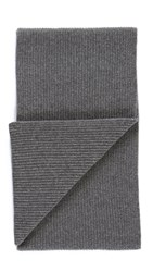 Rag And Bone Kaden Cashmere Scarf Grey Melange