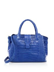 Nancy Gonzalez Cristina Medium Crocodile Satchel
