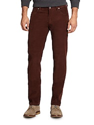 Saks Fifth Avenue Corduroy Pants Red