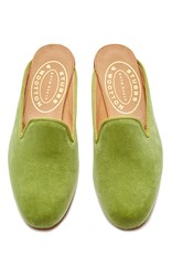 Stubbs And Wootton Kiwi Mule Lime Green