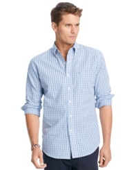 Izod Big And Tall Shirt Long Sleeve Essential Tattersall Checked Shirt American Dream