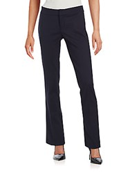 Saks Fifth Avenue Black Power Stretch Flare Pants Black
