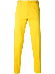 Dsquared2 Chino Trousers Yellow And Orange