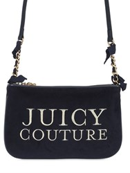 Juicy Couture Sunburst Velour Crossbody Bag