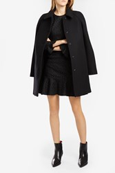 Paul Joe Women S Sonja Heavy Wool Coat Boutique1 Black