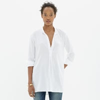 Madewell Wellspring Tunic Popover Shirt