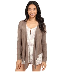 O'neill Adelaide Sweater Taupe Women's Sweater