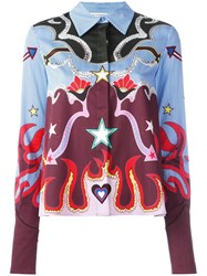 Mary Katrantzou Graphic Cowboy 'Shane' Shirt