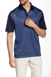 Cutter And Buck Drytec Approach Polo Blue