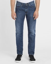 Carhartt Faded Light Blue Vicious Madera Tapered Fit Jeans