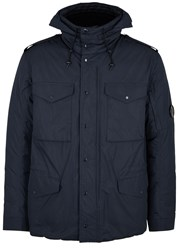 C.P. Company Navy Water Resistant Shell Jacket