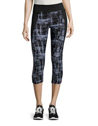 Calvin Klein Cropped Performance Leggings Stone