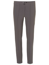 Betty Barclay Stretch Crepe Trousers Cool Grey