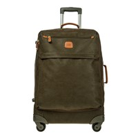 Bric's Life Carry On Zipper Suitcase Olive Tan 65Cm