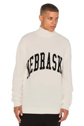 Off White Nebraska Turtle Neck Ivory