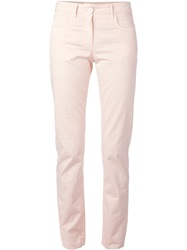 Incotex Patterned Skinny Jeans