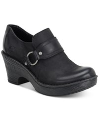 Born Ravenna Clogs Women's Shoes Black