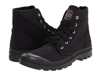 Palladium Pampa Hi Black Black Men's Lace Up Boots