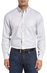 Cutter And Buck Men's Big Tall 'San Juan' Classic Fit Wrinkle Free Solid Sport Shirt Graphite