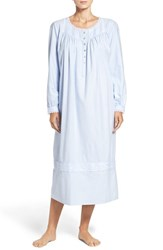 Eileen West Women's Long Sleeve Flannel Nightgown